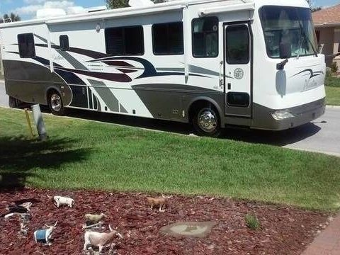 smoke free 2003 Tiffin Motorhomes Phaeton camper rv for sale