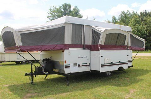 versatile 2006 Fleetwood NIAGARA tent camper for sale
