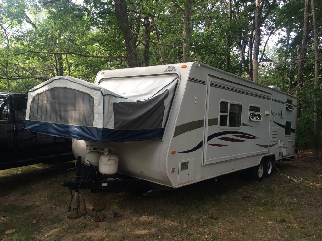 slide outs 2007 Jayco Jay Feather camper trailer