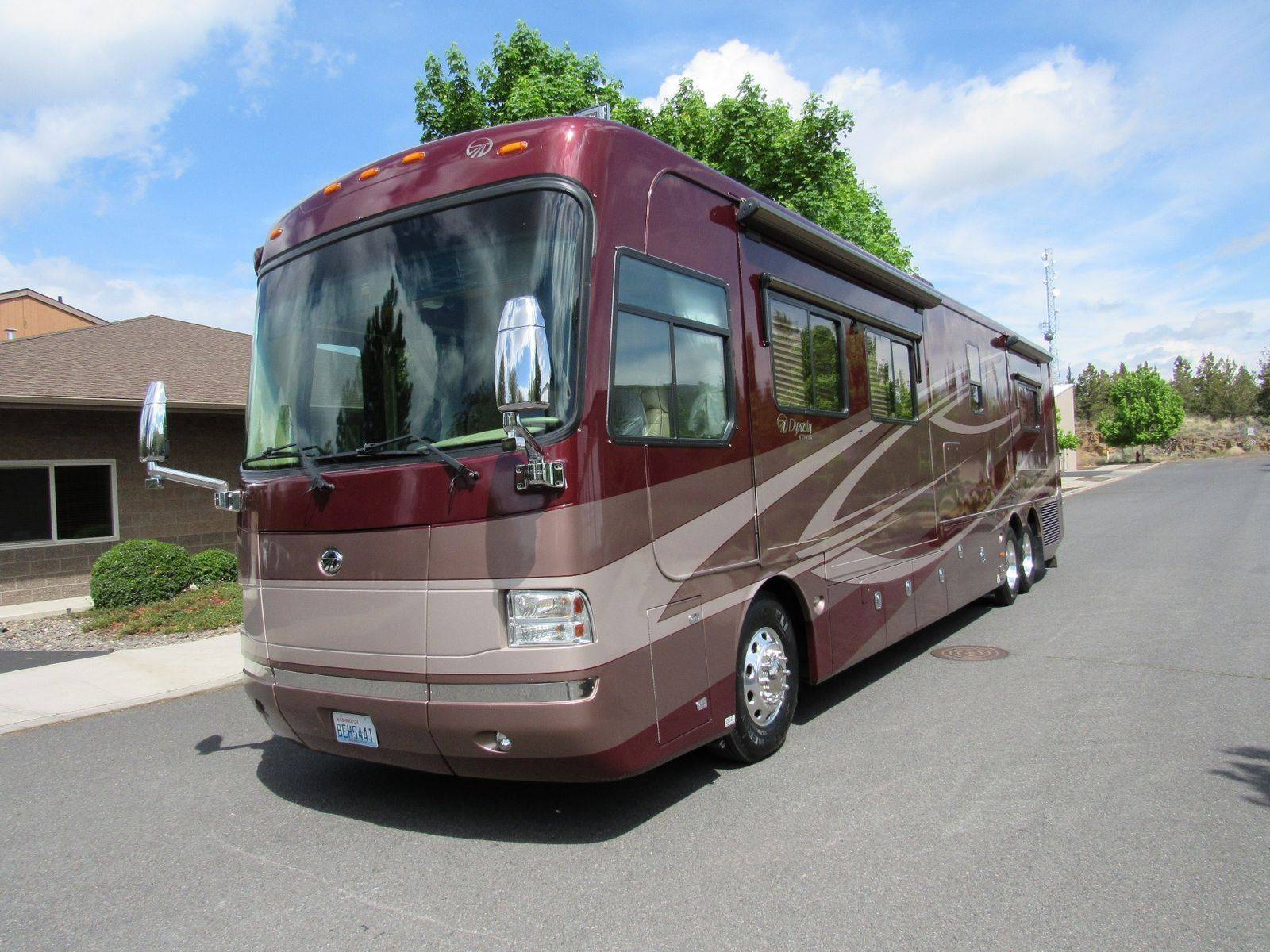 loaded 2007 Monaco Dynasty 42 Diamond camper rv for sale