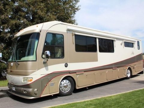 well equipped 2007 Alfa 40 Gold LS camper rv for sale