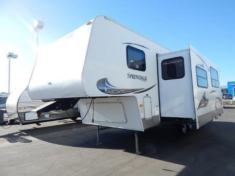 well equipped 2011 Keystone Springdale 249 camper for sale