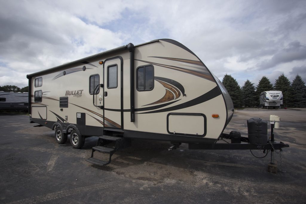 great 2016 Keystone Bullet 274bhs Camper