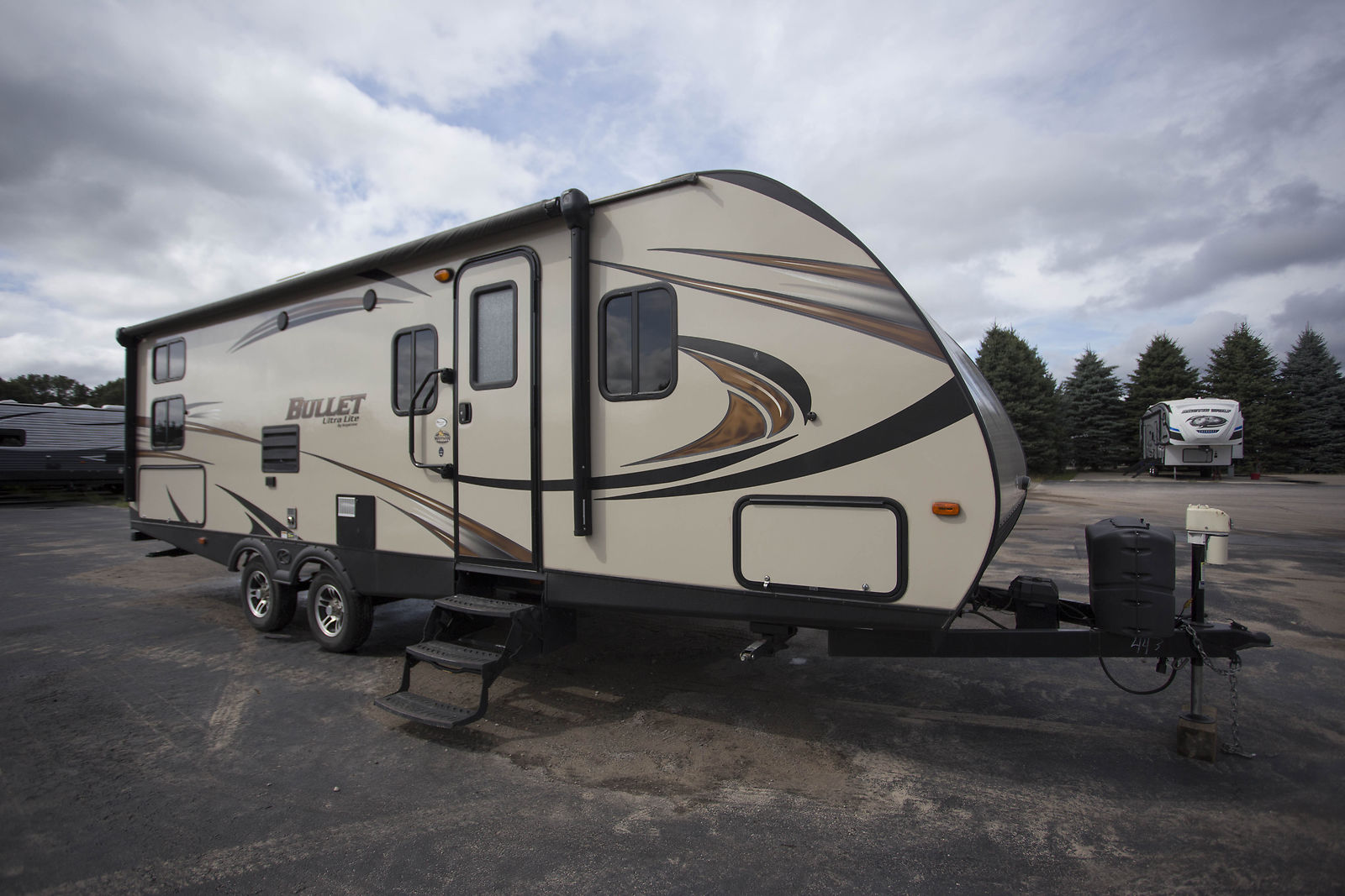 great 2016 Keystone Bullet 274bhs Camper for sale