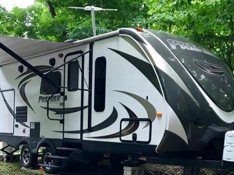 loaded 2015 Keystone Bullet Premier 22RBPR camper for sale