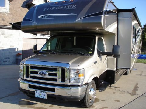 new tires 2015 Forest River Forester camper for sale