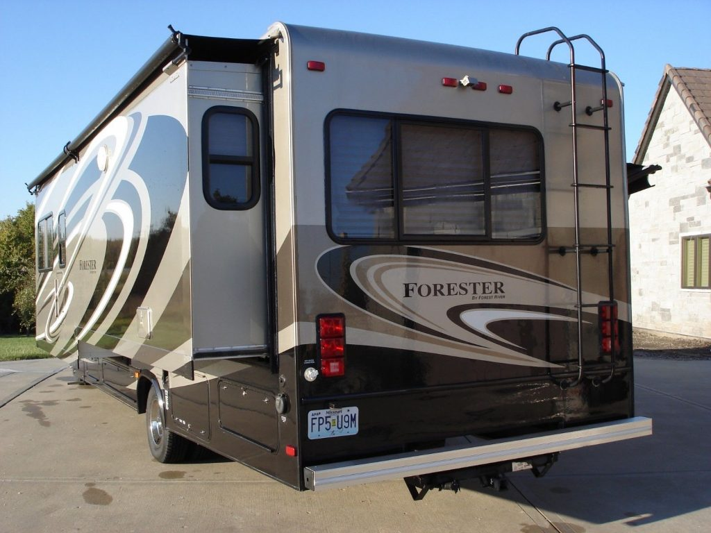 new tires 2015 Forest River Forester camper