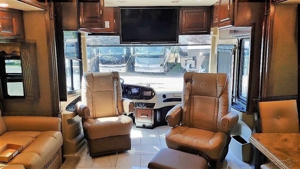 loaded 2016 Tiffin Allegro Bus camper