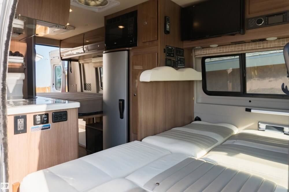 loaded 2017 Winnebago Travato camper