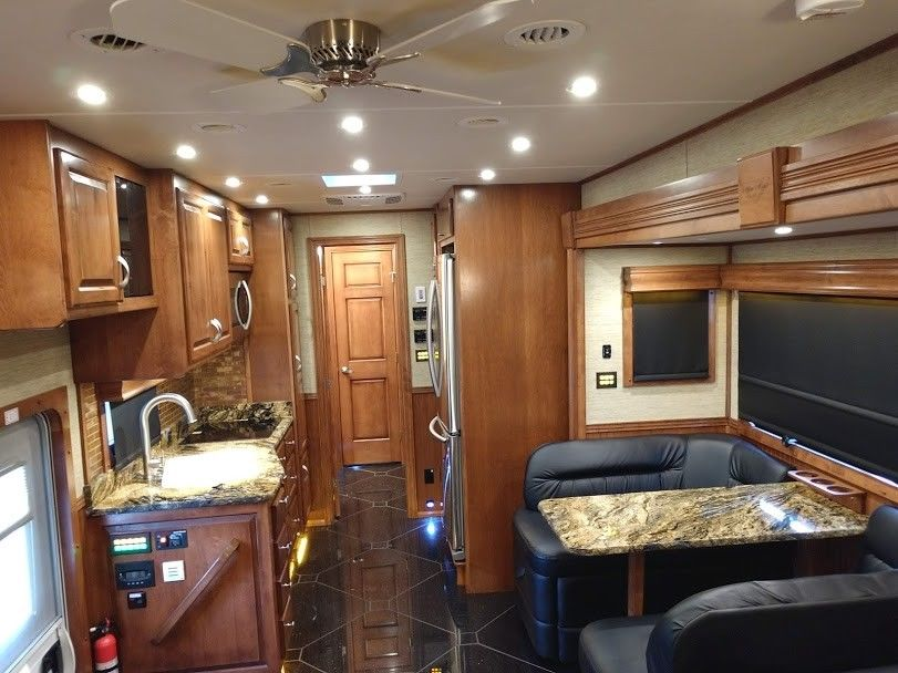 one of a kind 2016 Peterbilt Showhauler camper