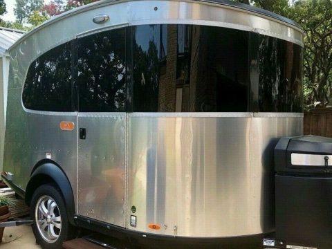 almost unused 2018 Airstream camper for sale