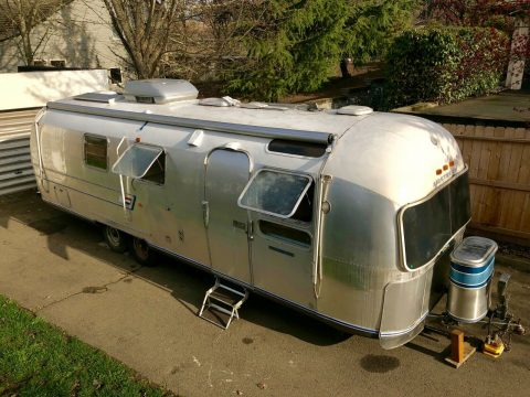 all original 1971 Airstream Sovereign camper for sale