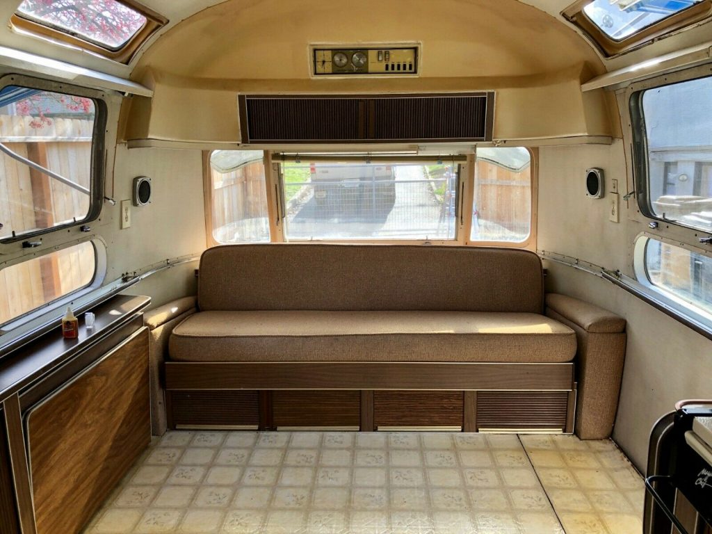 all original 1971 Airstream Sovereign camper