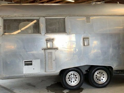 One of a Kind 1960 Airstream SP Railroad 33 camper for sale
