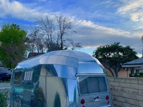 new parts 1955 Airstream Bubble Whale Tail camper for sale