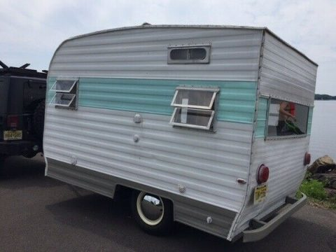 original vintage 1972 Oberlin Lee Mac camper for sale