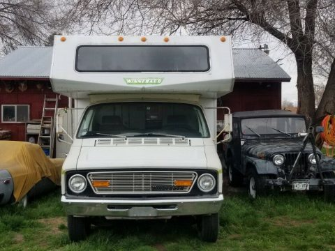 great shape 1973 Winnebago Minnie Winne camper for sale