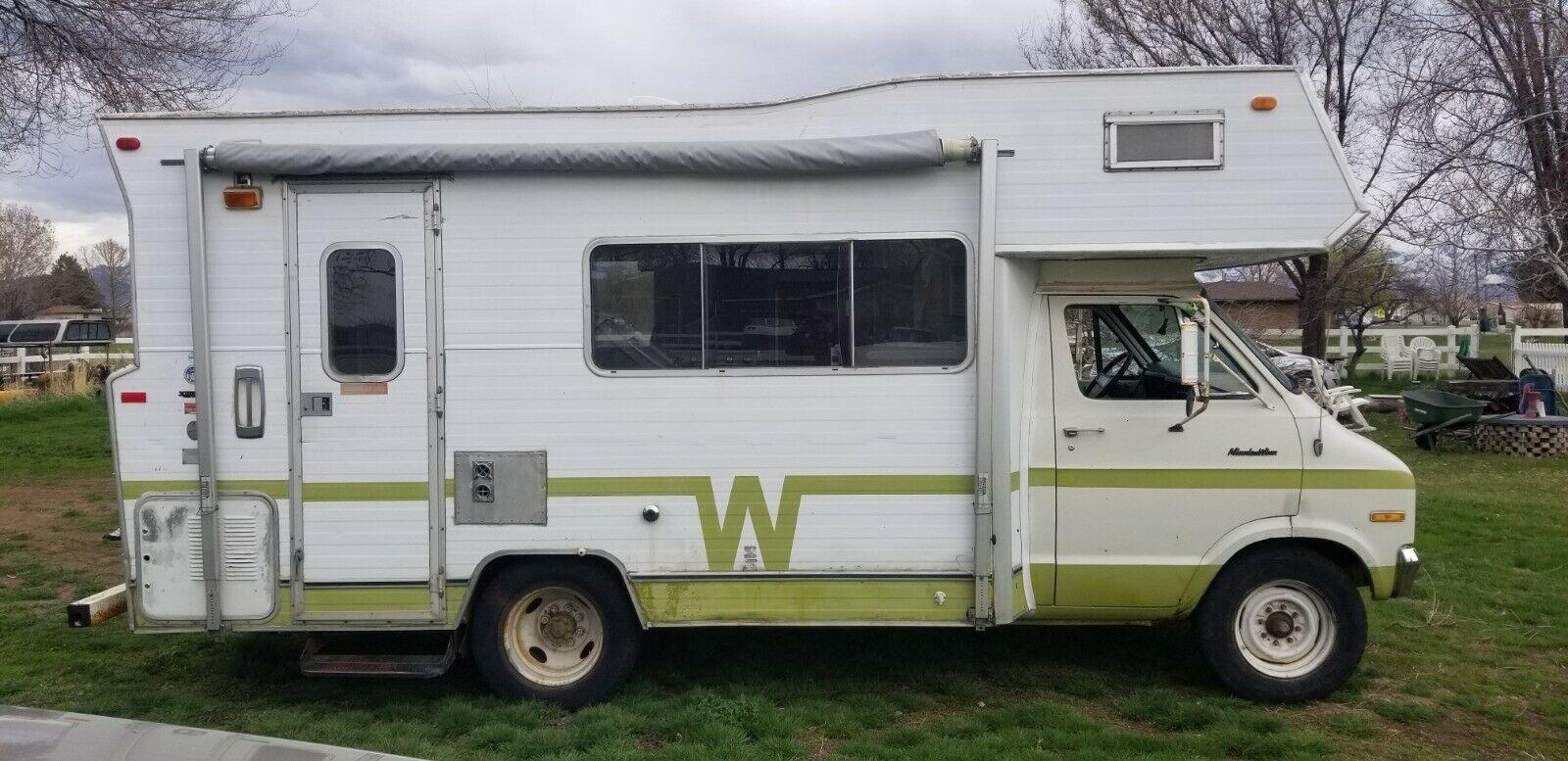great shape 1973 Winnebago Minnie Winne camper
