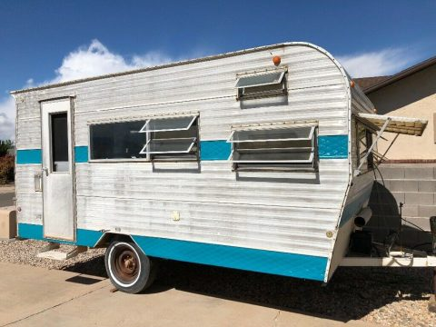 mostly original 1973 Rancho camper for sale