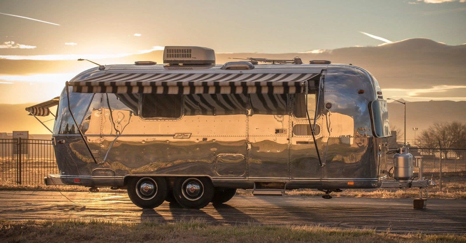 stunning 1973 Airstream camper