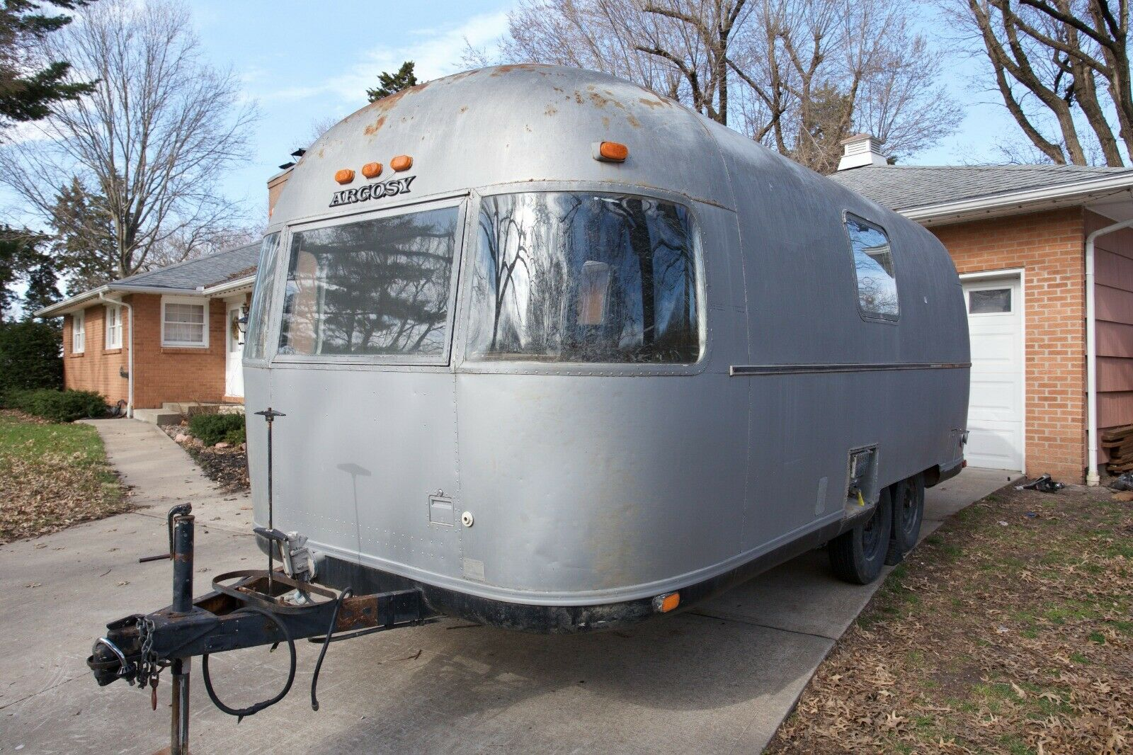 upgraded 1973 Airstream Argosy 22 camper for sale