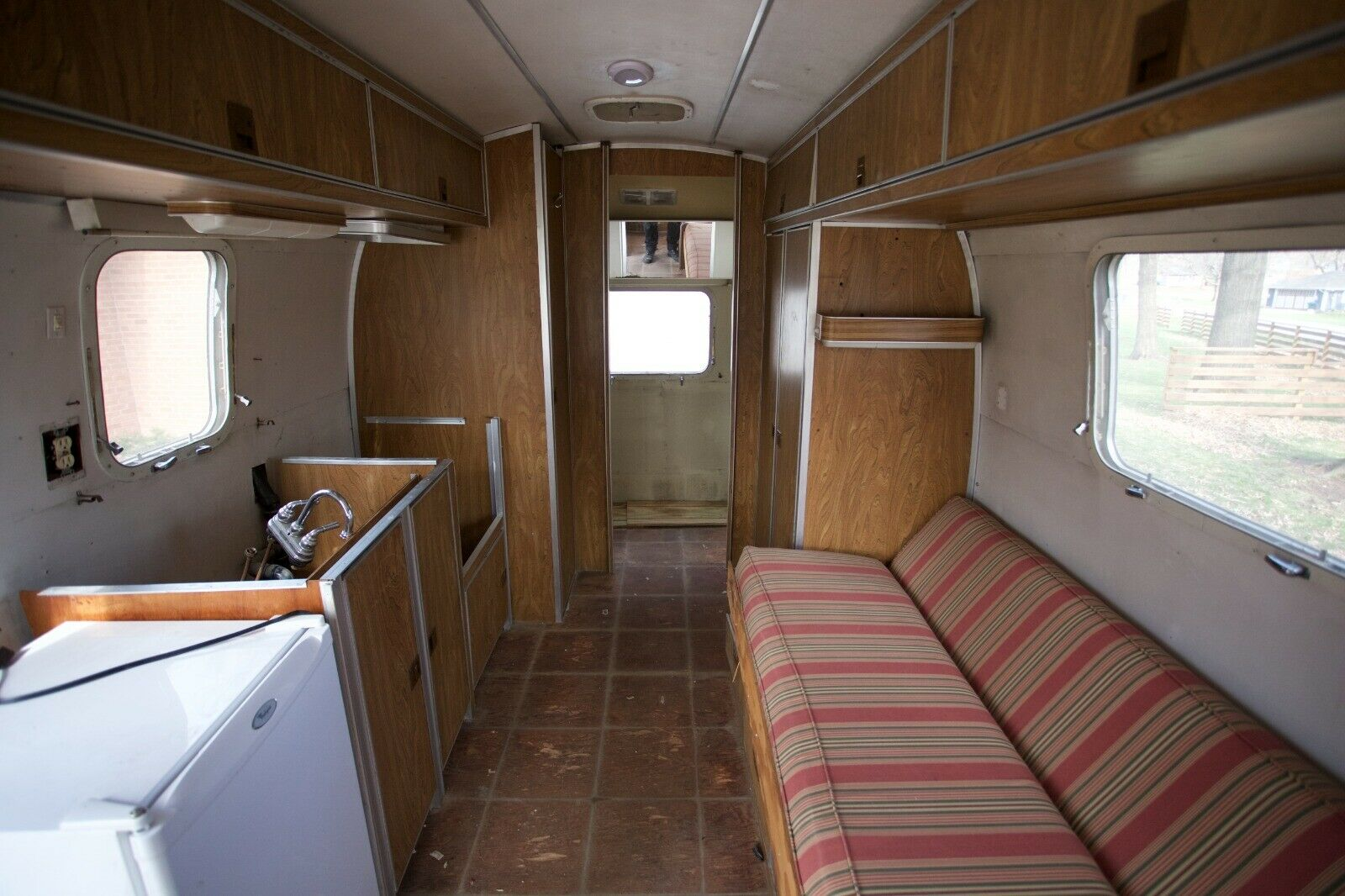 upgraded 1973 Airstream Argosy 22 camper