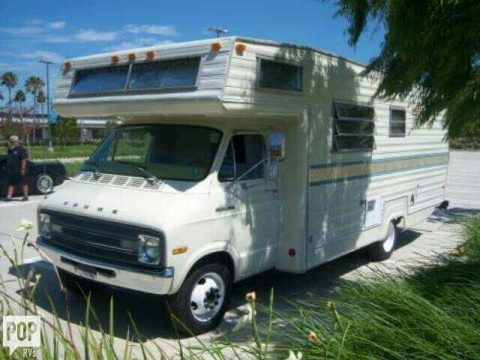classic 1977 Dodge Sportsman camper for sale