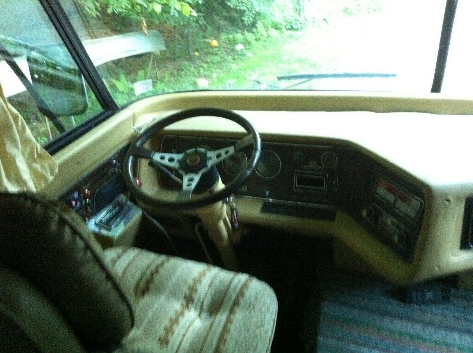 classic 1978 Dodge Travco Motorhome camper