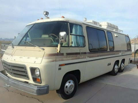 decent mileage 1978 GMC Eleganza II Class A Motorhome for sale