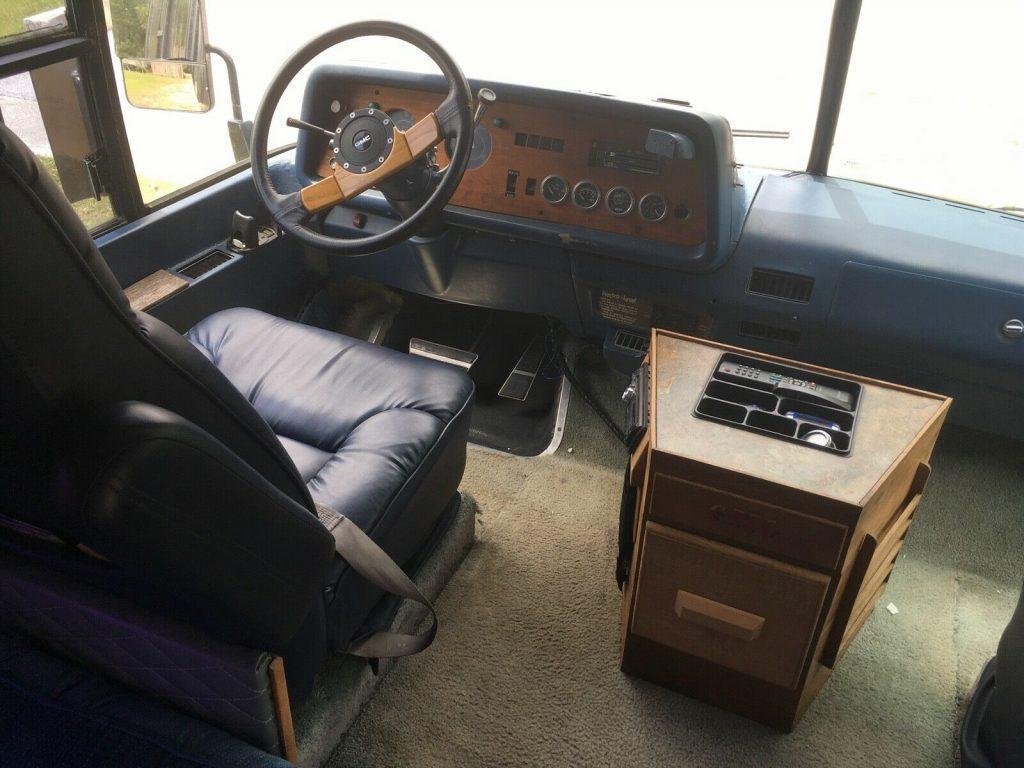 iconic 1976 GMC Motorhome camper