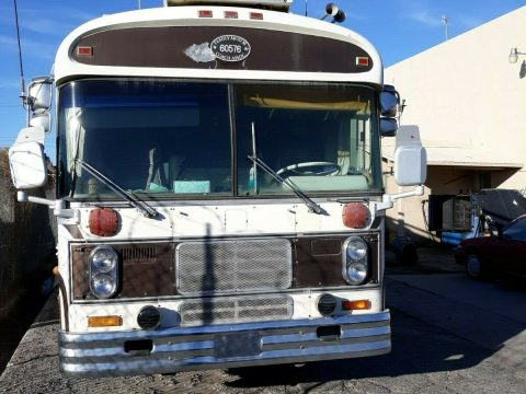 needs work 1976 Bluebird Wanderlodge camper bus for sale