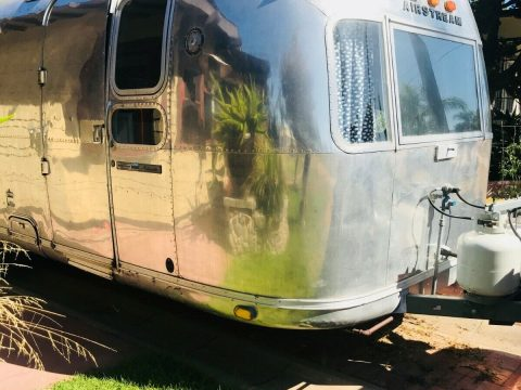 restored 1976 Airstream Ambassador camper for sale