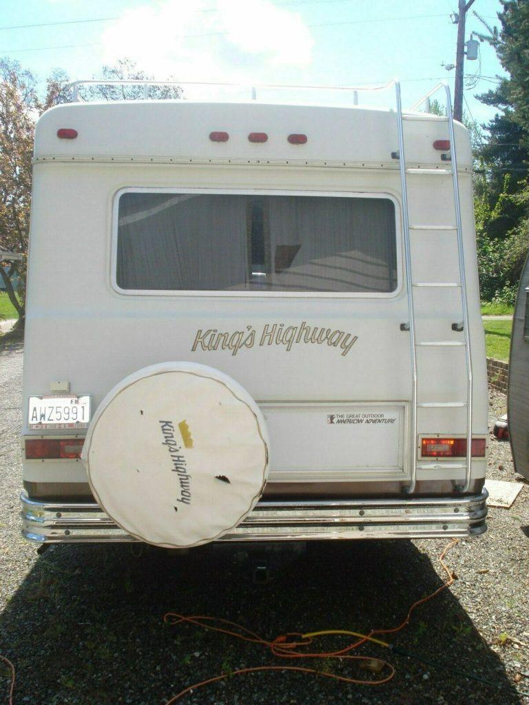 very clean 1977 Kings Highway camper