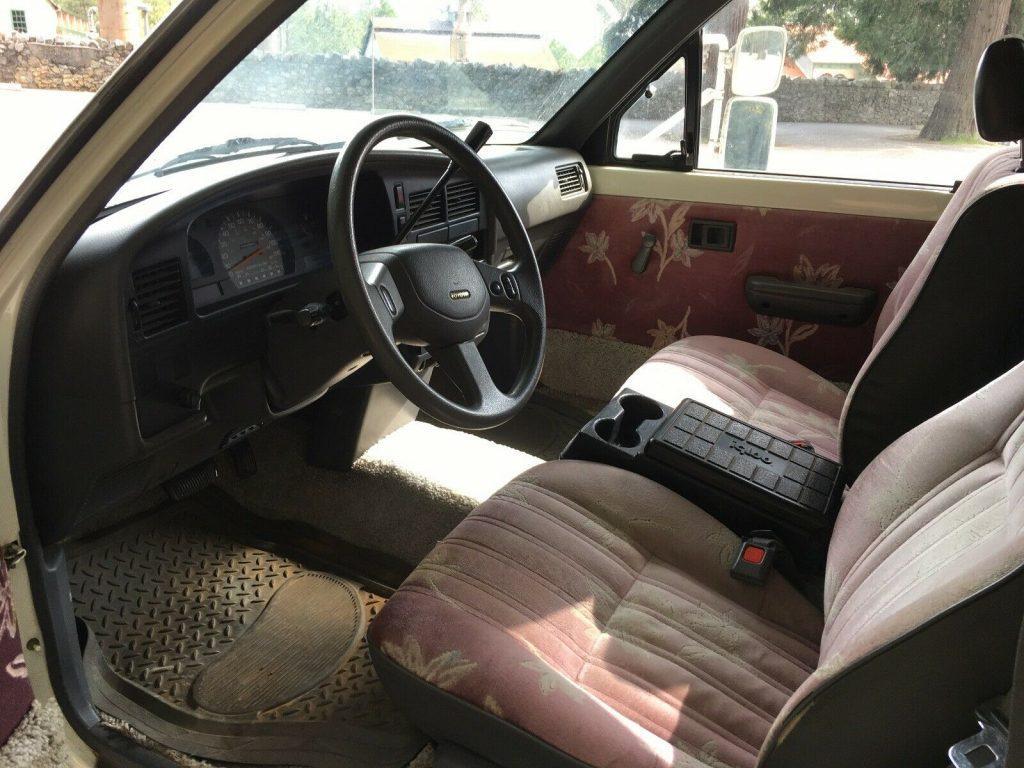 great 1989 Toyota Sunseeker Sunrader V6 camper