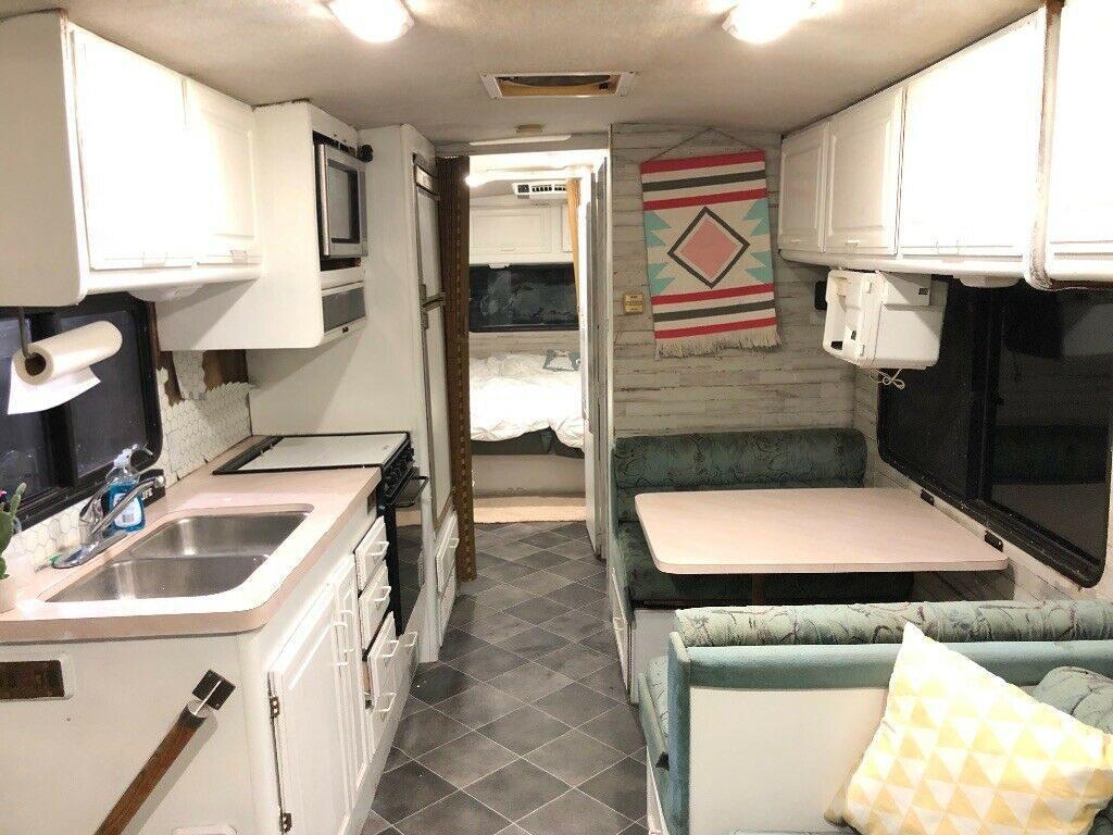 renewed 1995 Fleetwood Bounder RV 32ft camper for sale