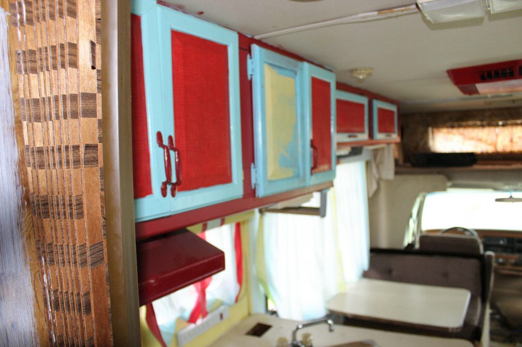 water damage 1988 Gulf Stream camper