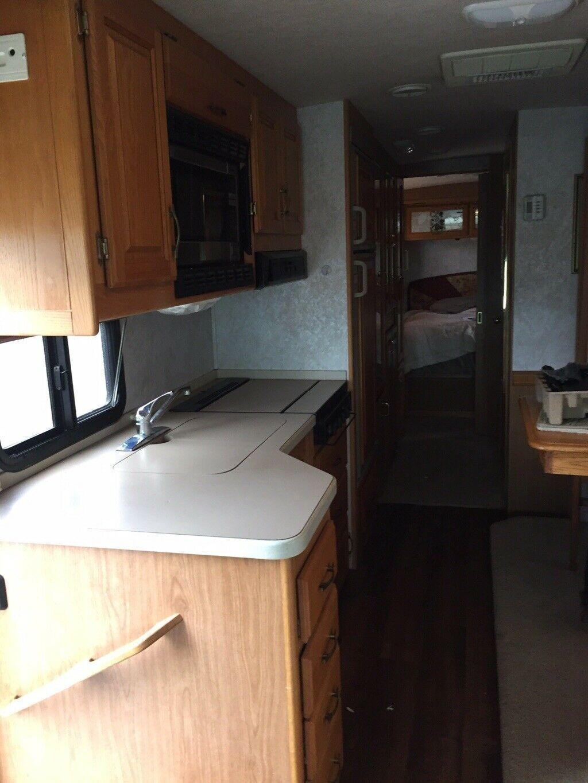 restored 1998 Ford Commander camper