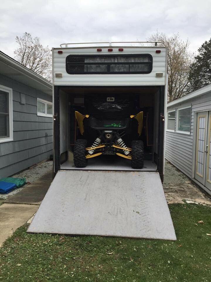 toy hauler 2000 Forest River Salem camper for sale