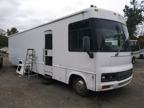 low miles 2001 Winnebago Mobile Music Studio camper for sale