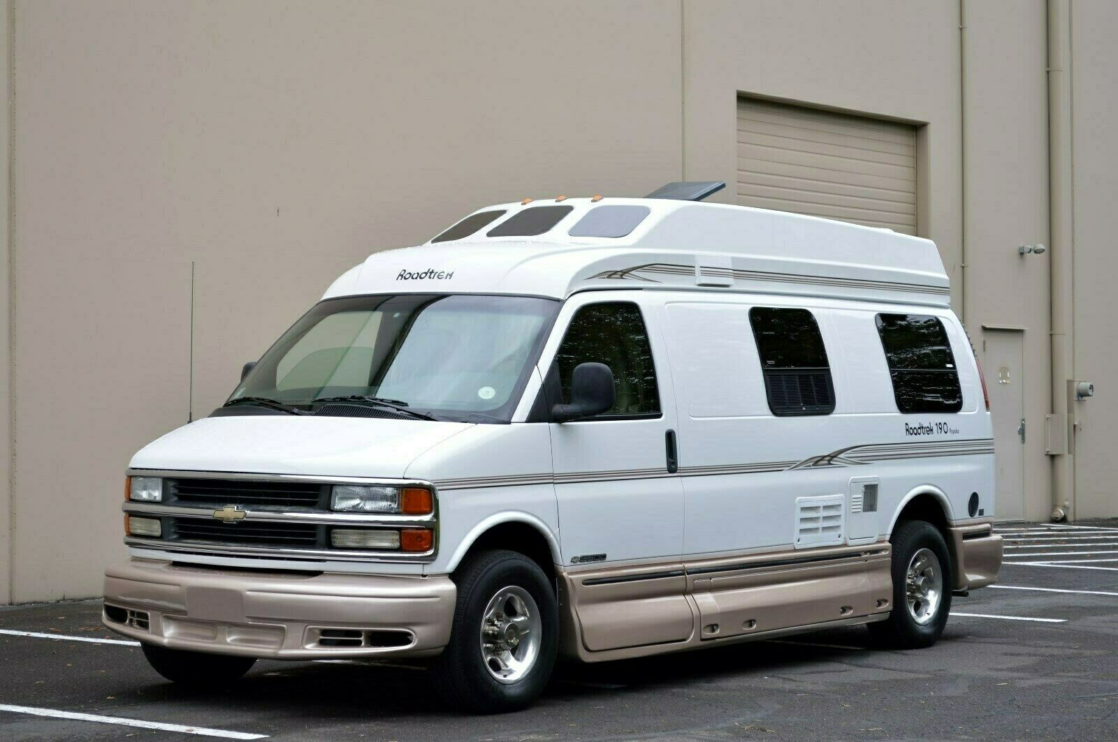 low miles 2002 Roadtrek 190 POPULAR camper for sale