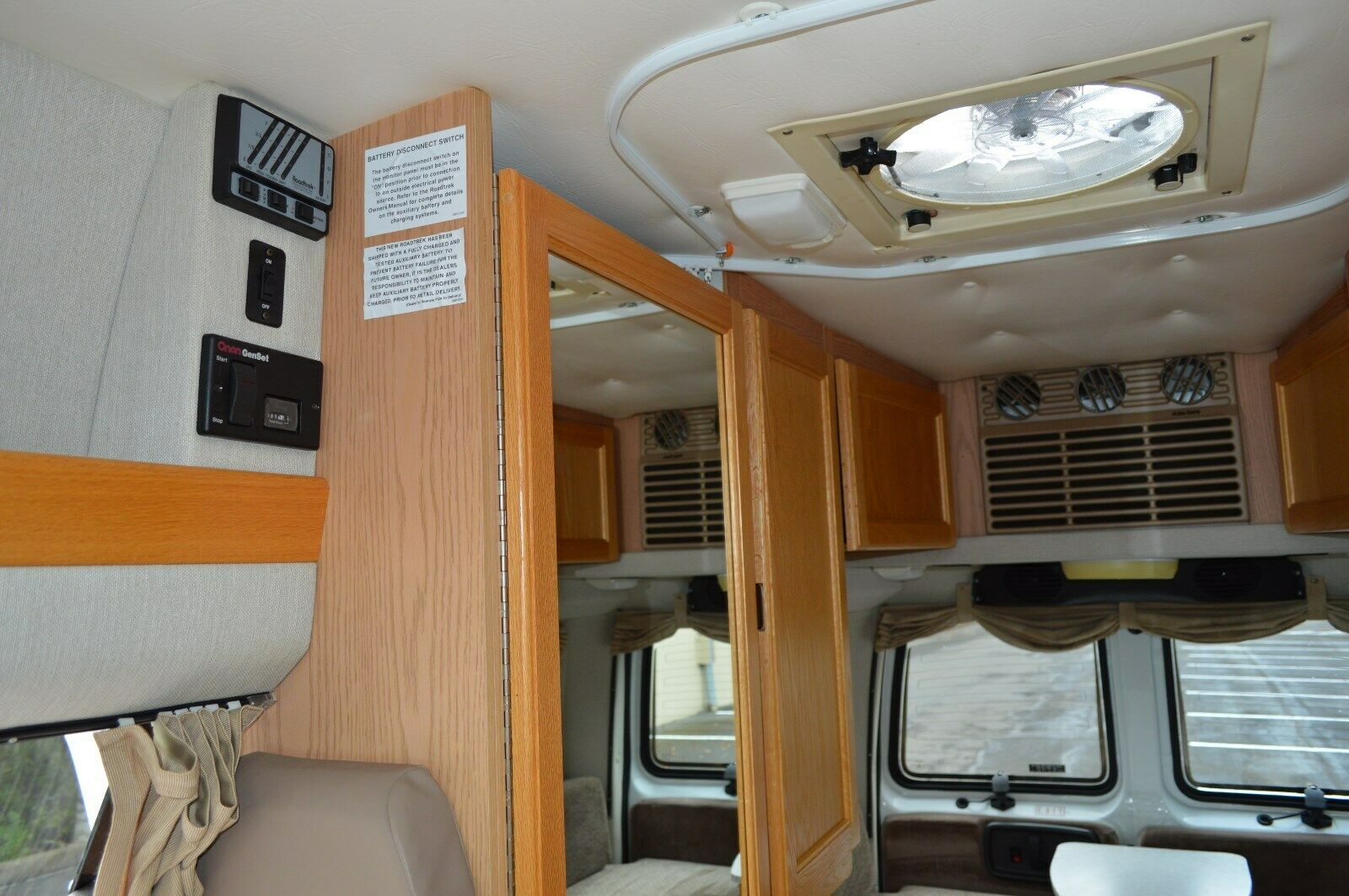 low miles 2002 Roadtrek 190 POPULAR camper