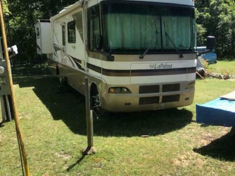 needs new tires 2002 Monaco LaPalma camper for sale