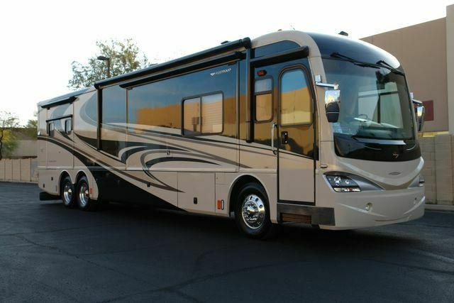 loaded 2008 Fleetwood Revolution LE 42N camper for sale