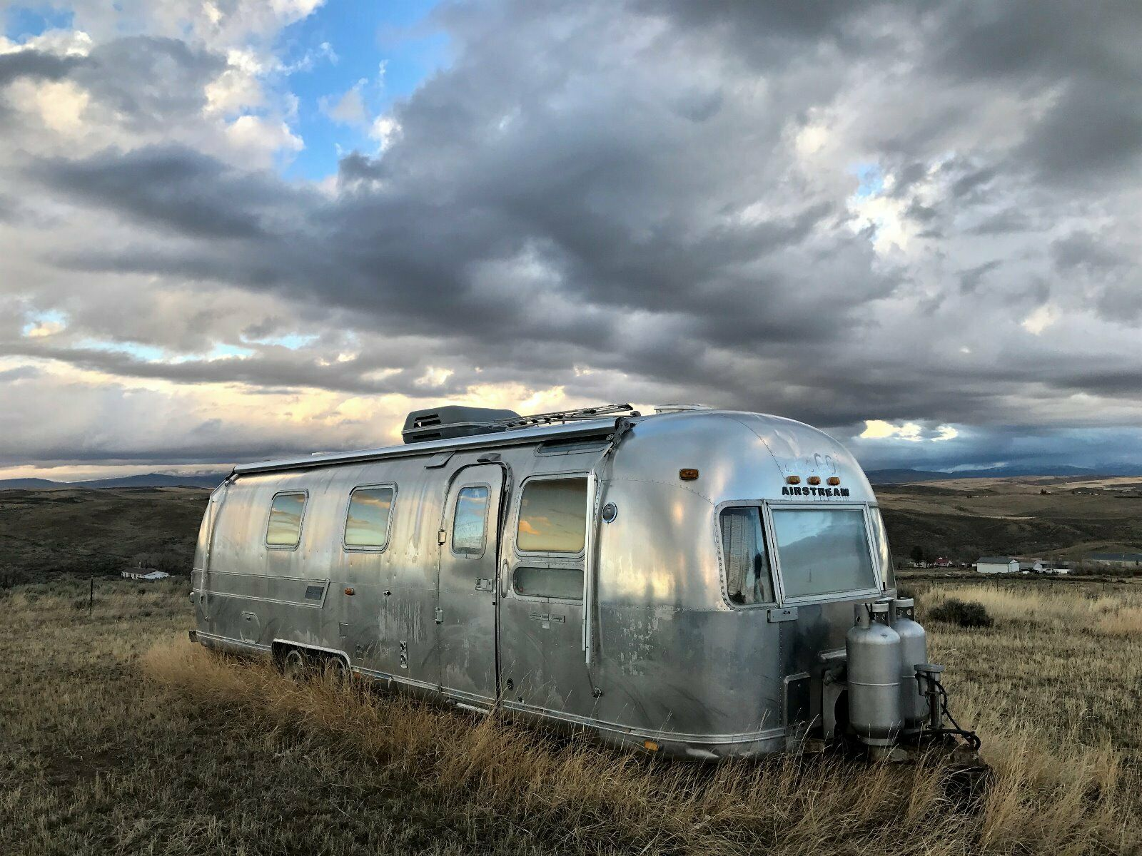 mostly all original 1977 Airstream Sovereign camper
