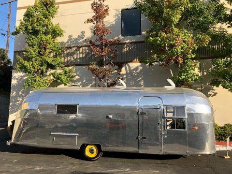 polished 1953 Airstream Overlander 26′ camper for sale