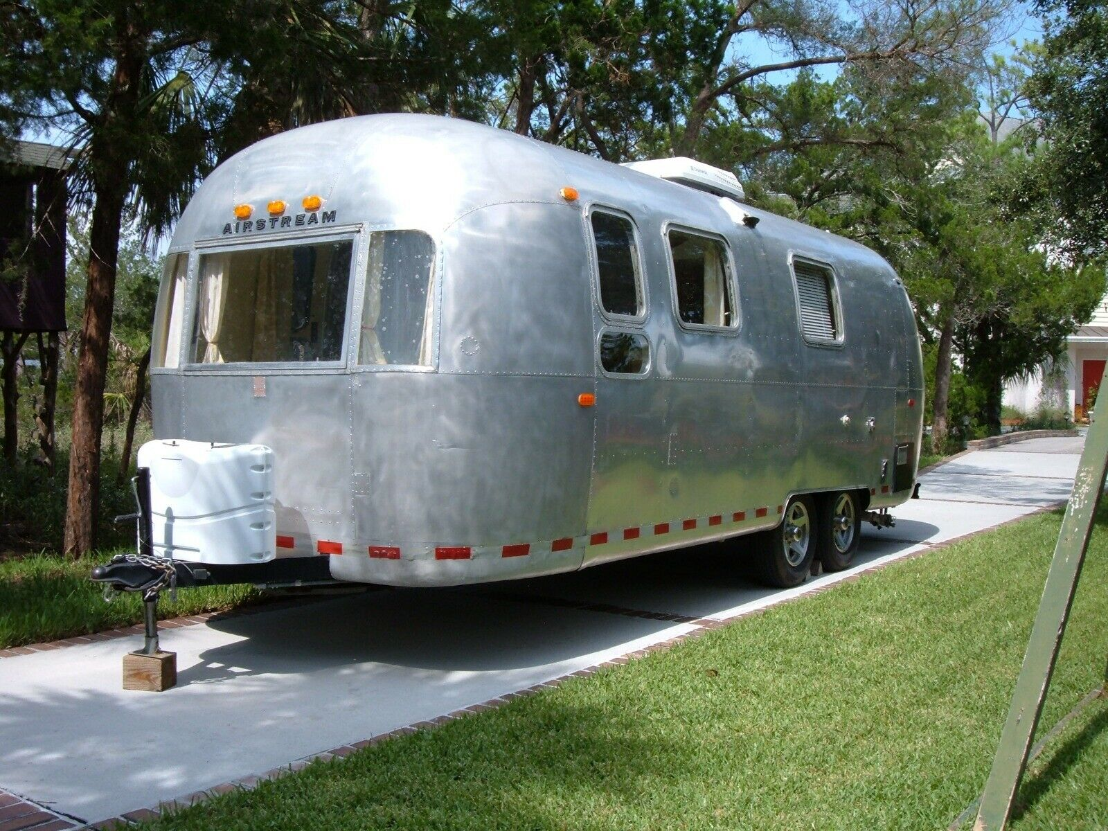 rebuilt 1969 Airstream Land Yacht camper for sale