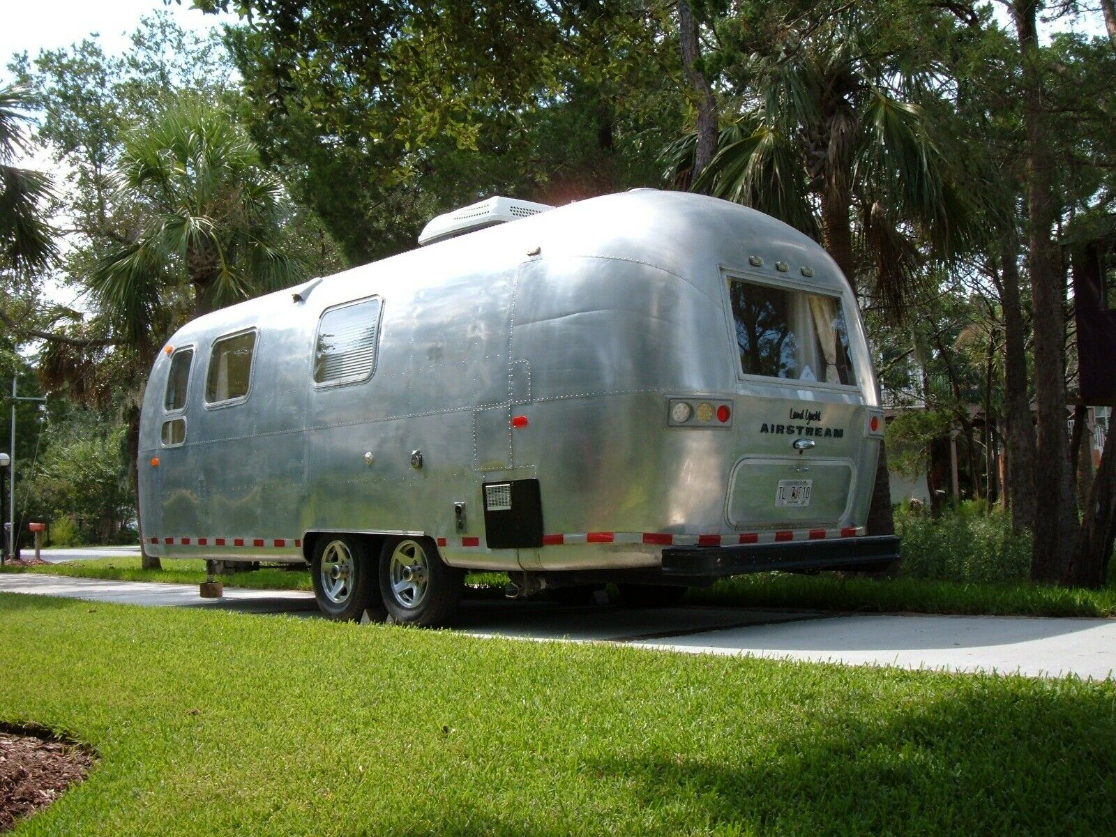 rebuilt 1969 Airstream Land Yacht camper