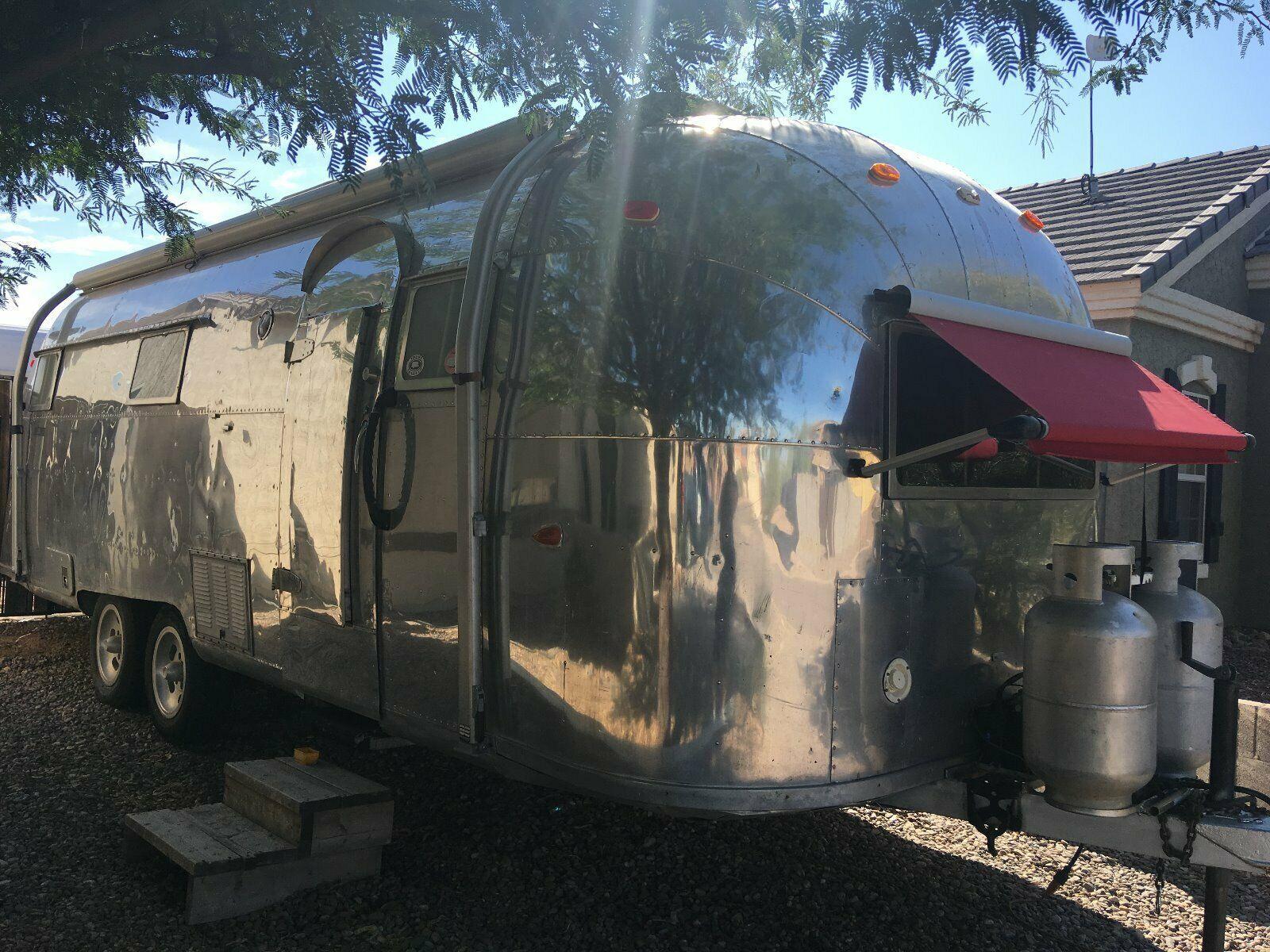 restored 1957 Airstream camper