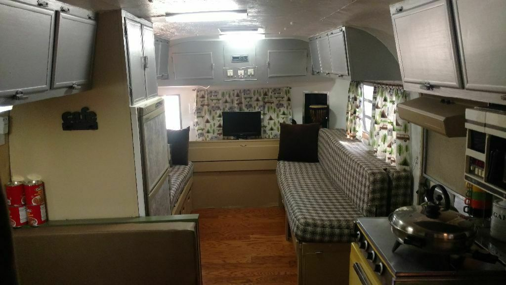 very solid 1972 Travelux camper