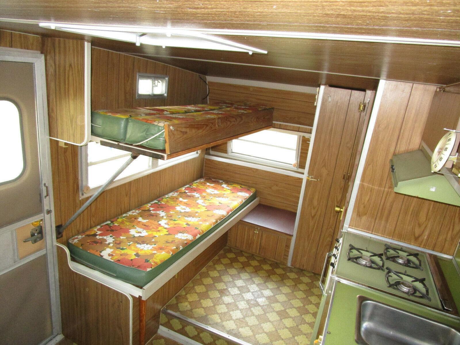 all original 1970 Shasta Lark camper